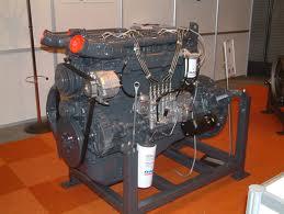 A diesel motor