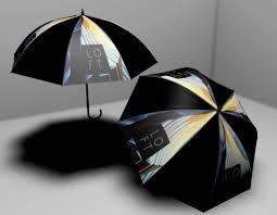 Esernyő logózás