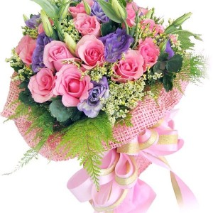 A virágcsokor mindig örömet tud okozni
